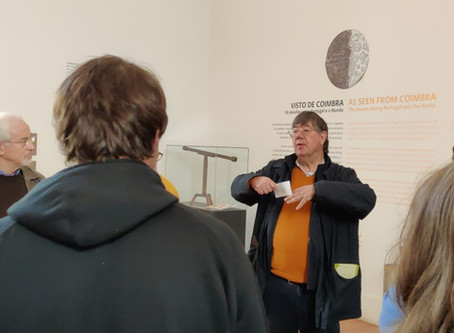 Somos Coimbra em visita cultural ao Museu da Ciência