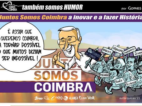 """Juntos Somos Coimbra a inovar e a fazer história: """"É assim que queremos Coimbra"""""""