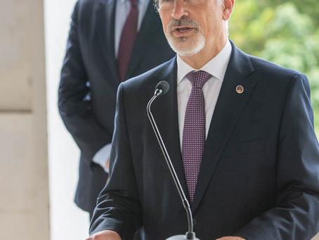 Paulo Mota Pinto é o mandatário da coligação Juntos Somos Coimbra