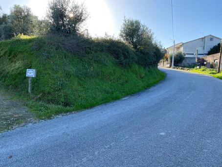 PS bloqueia obra em curva perigosa de Zouparria do Monte, em Souselas
