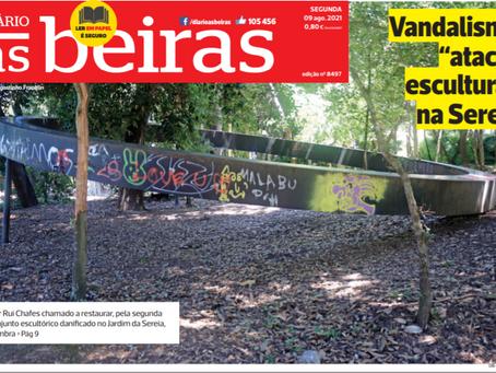 Somos Coimbra entende que é urgente reabilitar o Parque de Santa Cruz