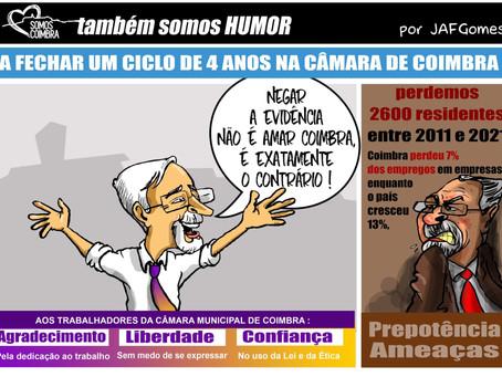 """3 palavras de José Manuel Silva para os trabalhadores da CMC: """"Agradecimento, liberdade e confiança"""""""