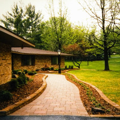 Handsome Paved Walkway