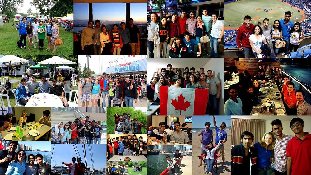 Devarsh Toronto last collage