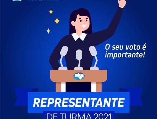 Representantes de turma 2021!