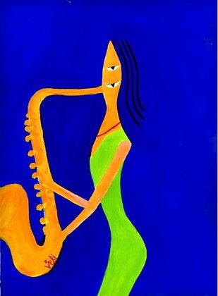 Sax Woman
