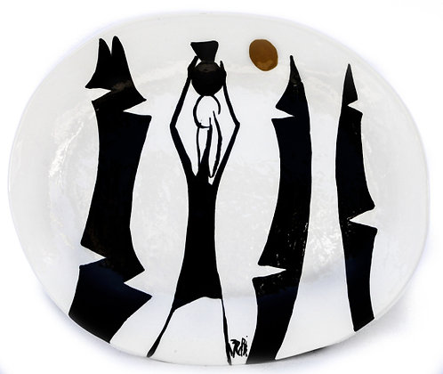 Hatian Oval Plate