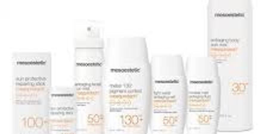 Mesoprotech solprodukter fra Mesoestetic