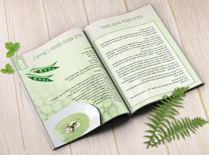 עיצוב חוברת הדרכה