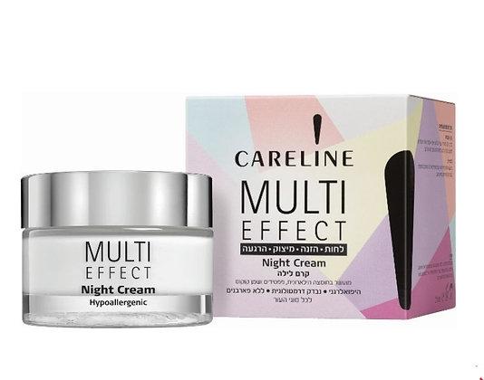 Multi Efect קרם לילה מולטי אפקט מבית קרליין