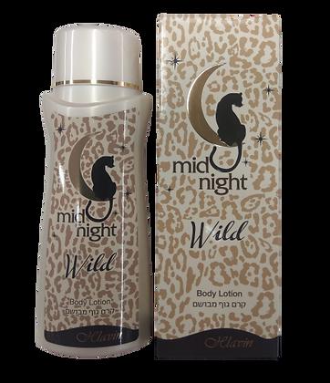 Mid Night Wild קרם גוף מיד נייט ווילד חלאבין. מוצרי טיפוח גוף לאישה