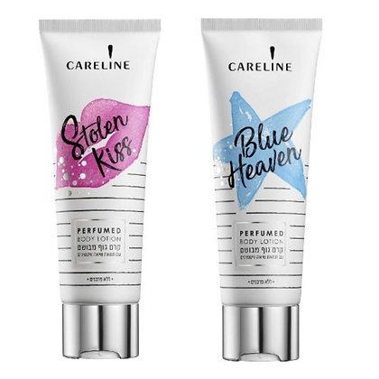 Careline body lotion קרליין קרם גוף מבושם. מוצרי טיפוח גוף לאישה