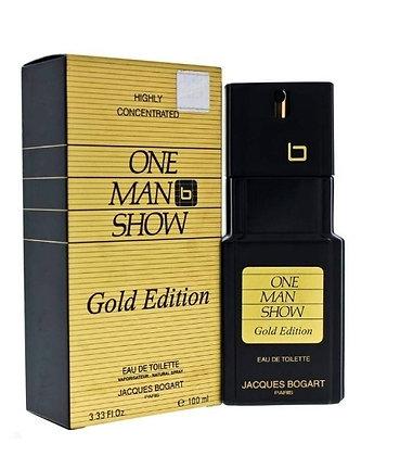One Men Show Gold ואן מן שואו גולד men perfume בושם לגבר