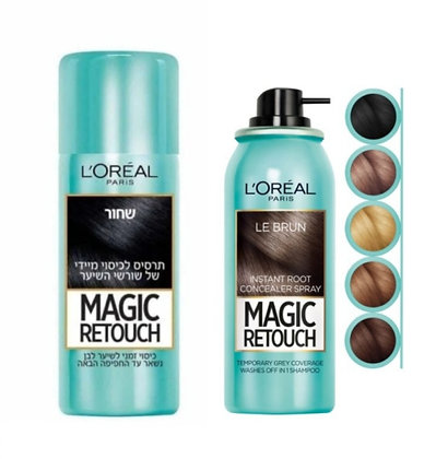 Magic Retouch LOREAL מג'יק ריטאצ' תרסיס לשיער שיבה לוריאל