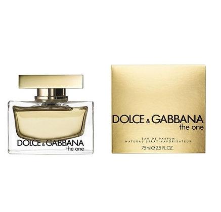 D&G the one women perfum בושם לאישה דולצ'ה וגבאנה דה ואן