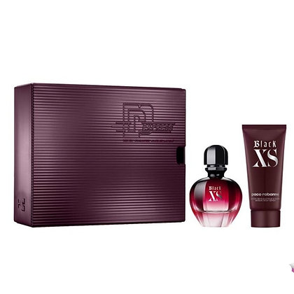 Black XS by Paco Rabanne kit בלאק אקסס מבית פקו רבאן סט מתנה לאישה