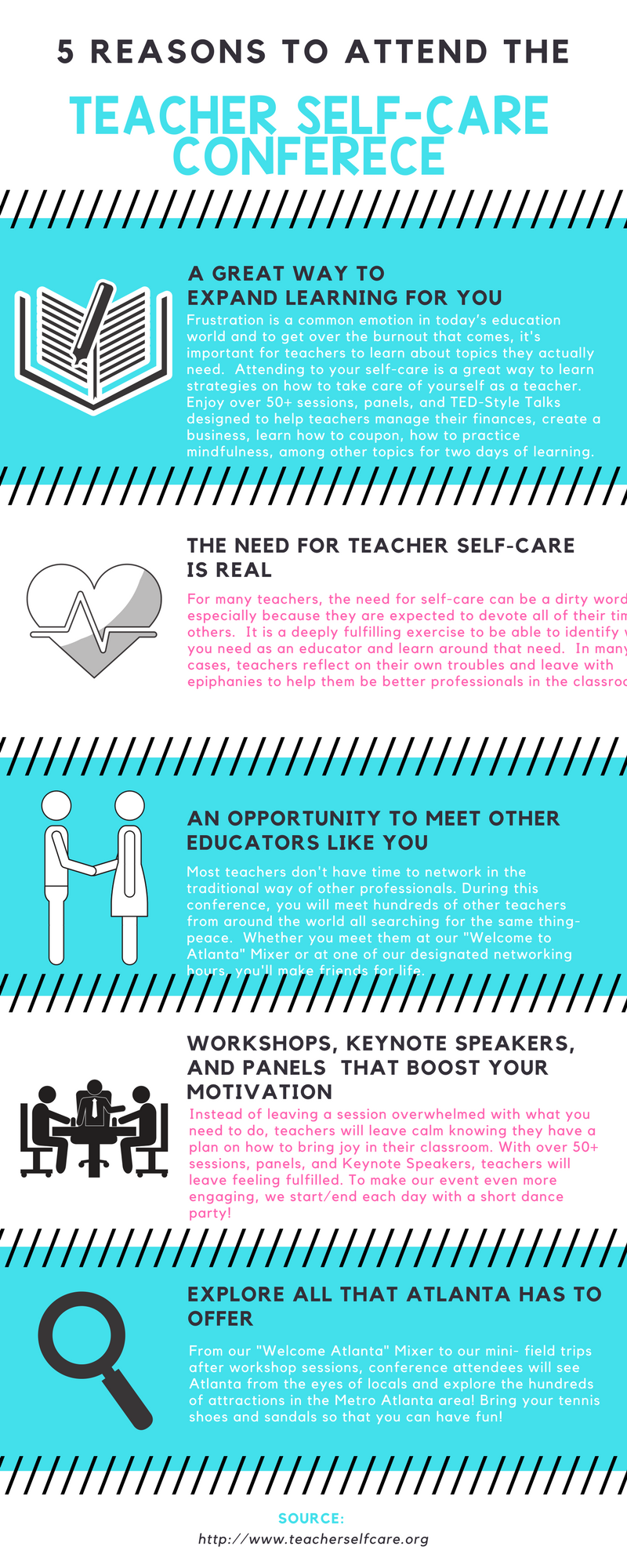 5 Reasons to Attend the Teacher Self-Care Conference