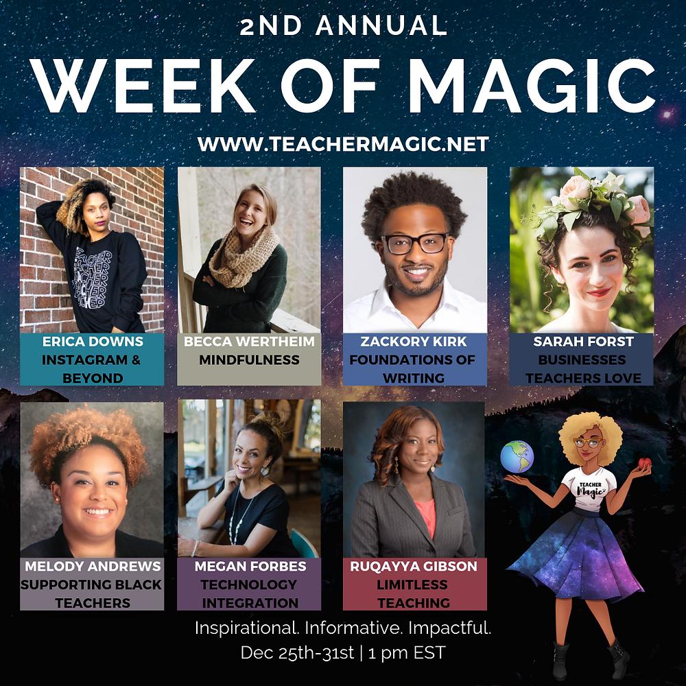 2nd Annual Week of Magic