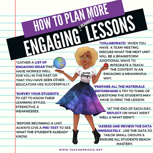 How to Plan More Engaging and Meaningful Lessons