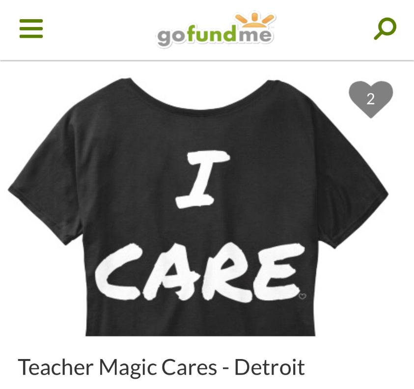 Detroit Public Schools go fund me