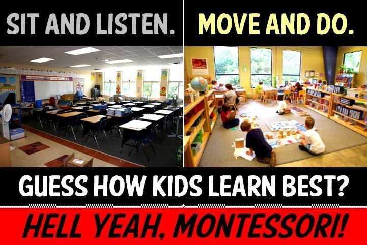Hell Yeah, Montessori