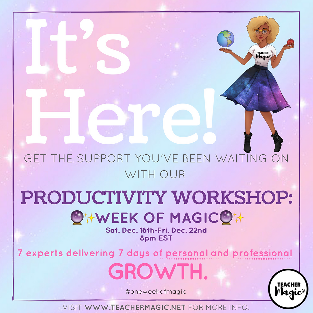 Productivity Workshop: Week of Magic
