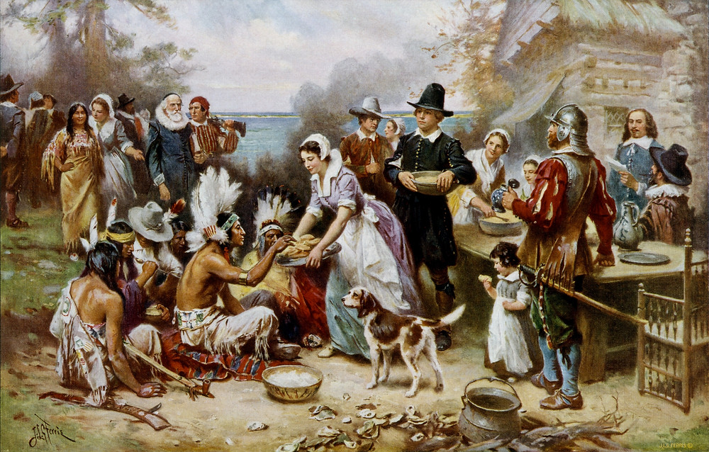 """The First Thanksgiving"""