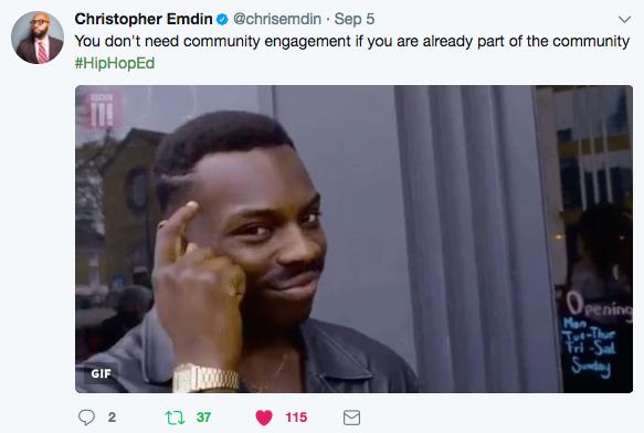 Christopher Emdin on Community Engagement