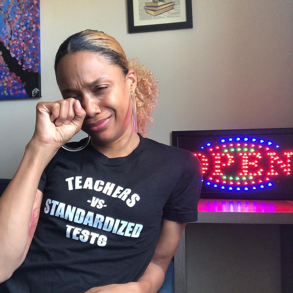Teachers Vs Standardized Tests Shirt