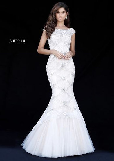 Sherri Hill 51593 Ivory