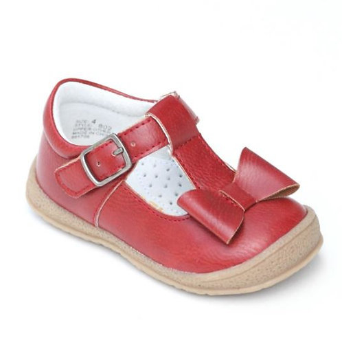 L'Amour Bow Mary Jane Shoe Red