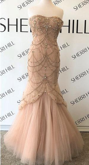 Sherri Hill 32237 Champagne