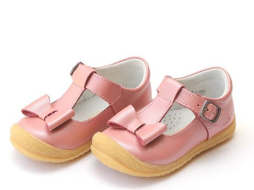 L'Amour Bow Mary Jane Shoe Pink