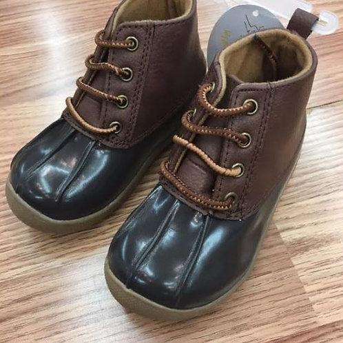 Baby Deer Duck Boots Brown