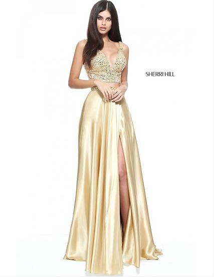 Sherri Hill 50993 Gold