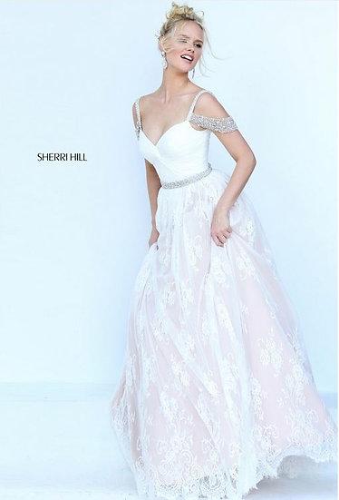 Sherri Hill 50595 Ivory