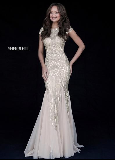 Sherri Hill 51426 Gold