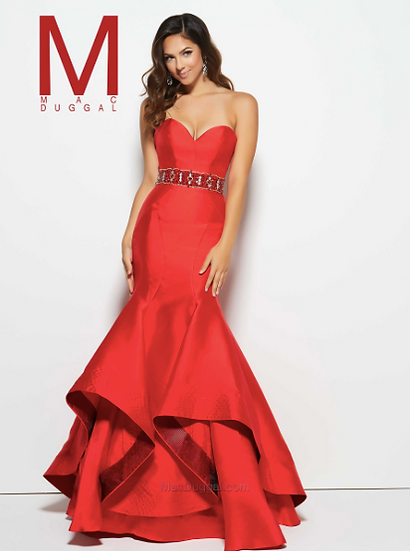 Mac Duggal 48431M Red