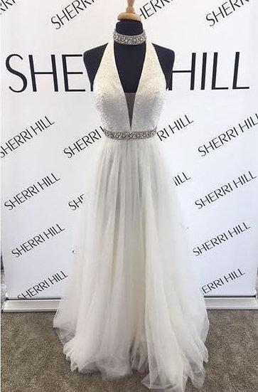 Sherri Hill 51637 Ivory