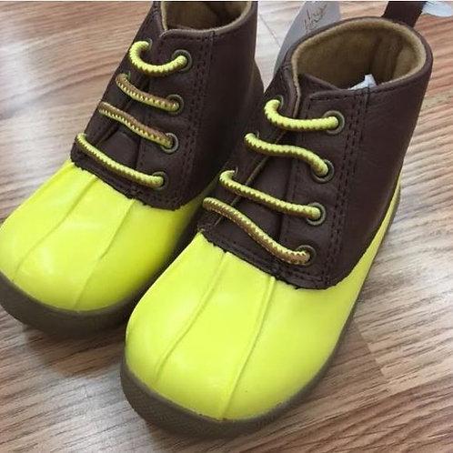 Baby Deer Duck Boot Yellow