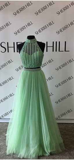 Sherri Hill 50786 Light Green