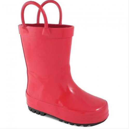 Baby Deer Rainboot Red
