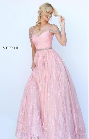 Sherri Hill 50595 Blush