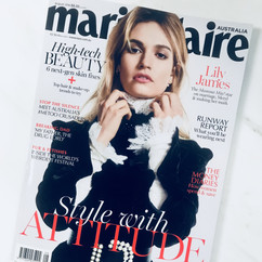 Marie Claire August 2018 featuring Dermalux