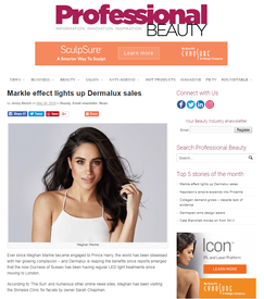 Professional beauty online