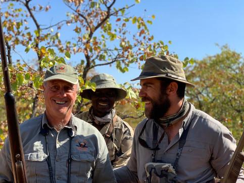 Howard Knott and Same Mbuweni