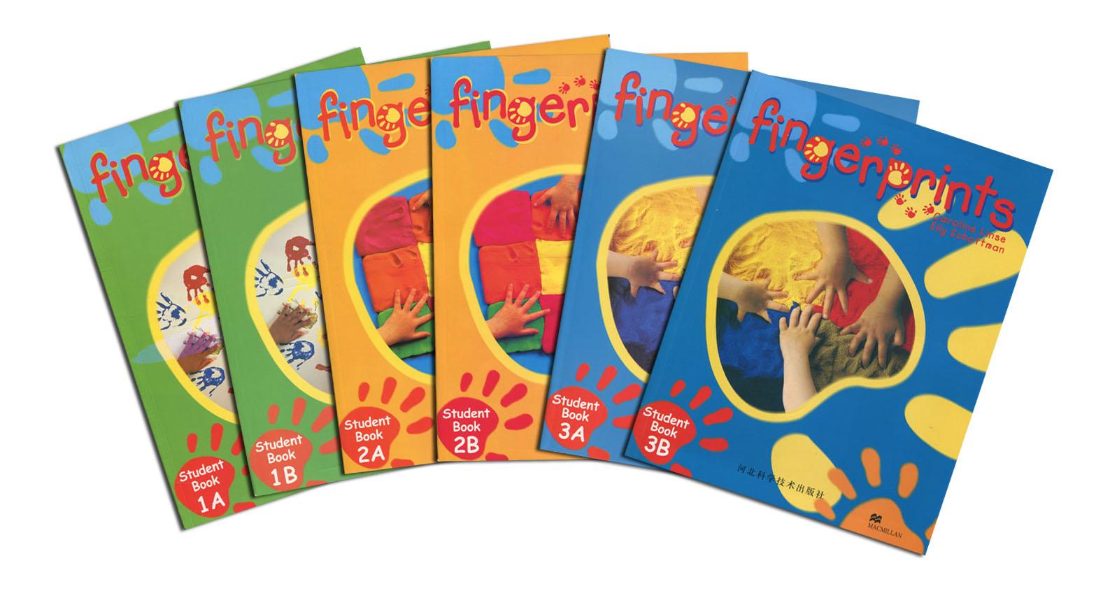 美国幼儿园教材Fingerprints