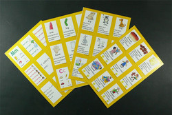 Fingerprints教学卡片