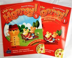 朗文原版Hooray进口教材 与美国小学同步