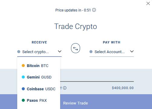 BlockFi Trading